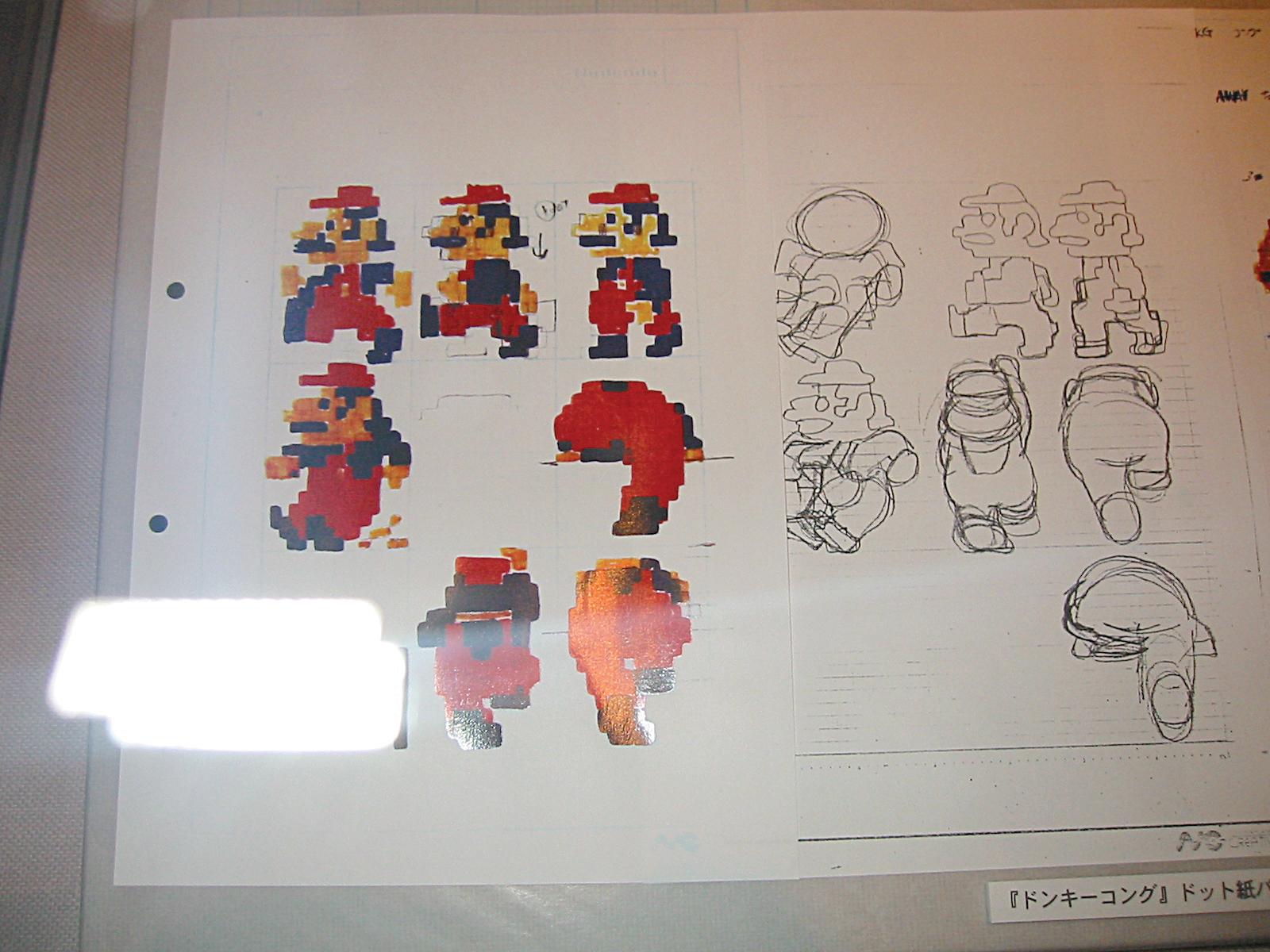 Mario drafts