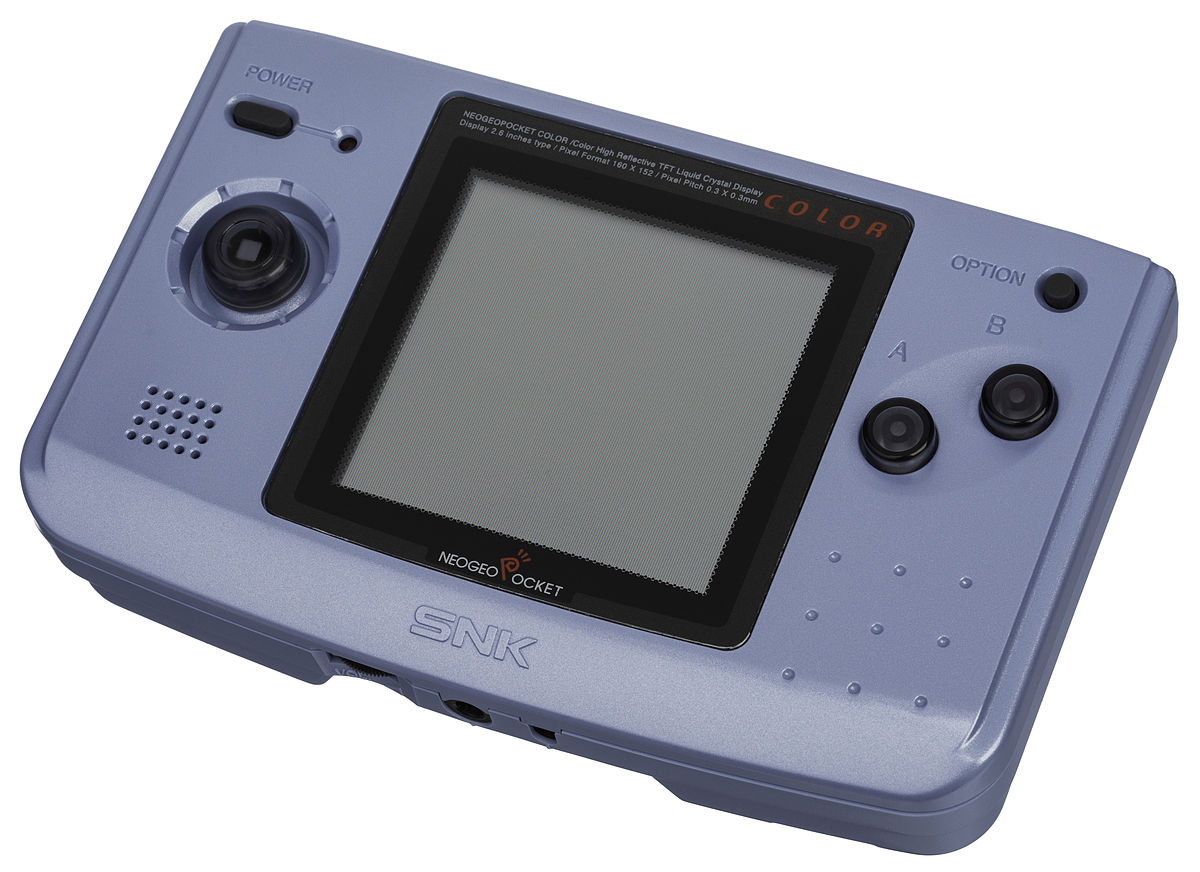 Neo-Geo-Pocket-Color-Blue-Left