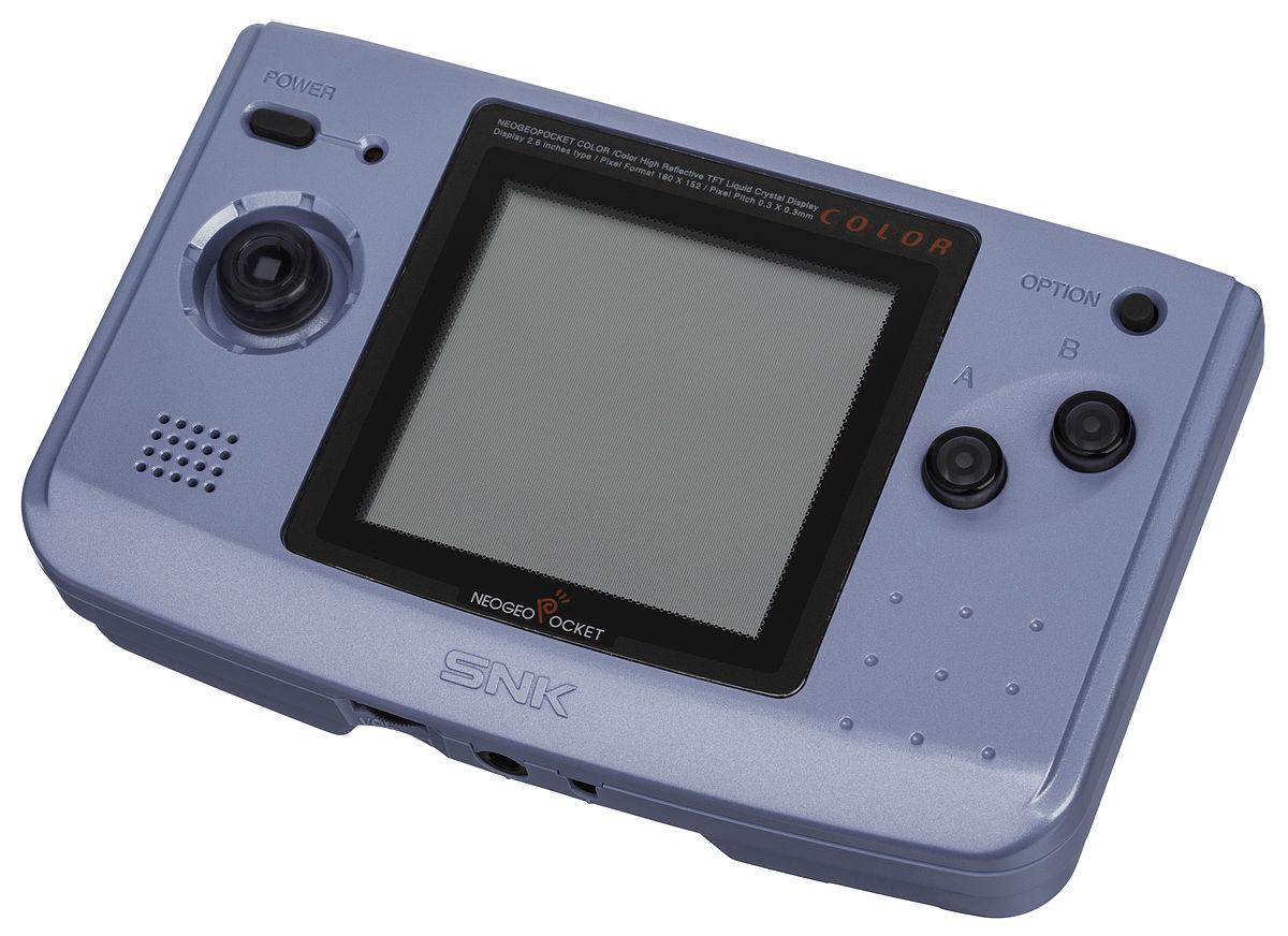 Neo-Geo-Pocket-Color-Blue-Left