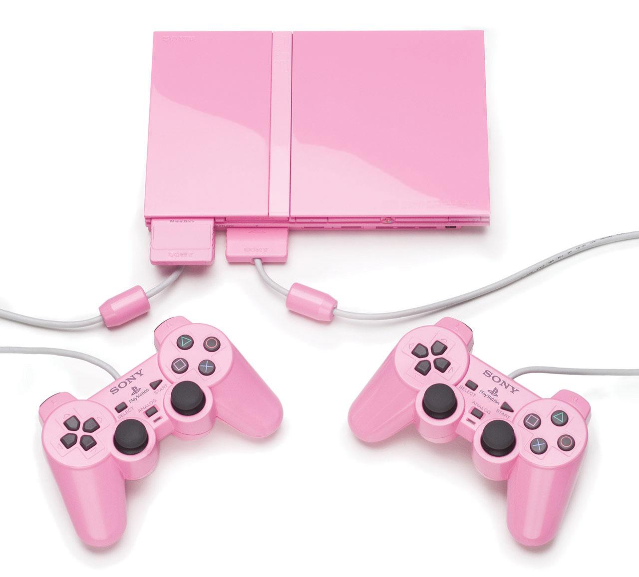 pink-playstation2