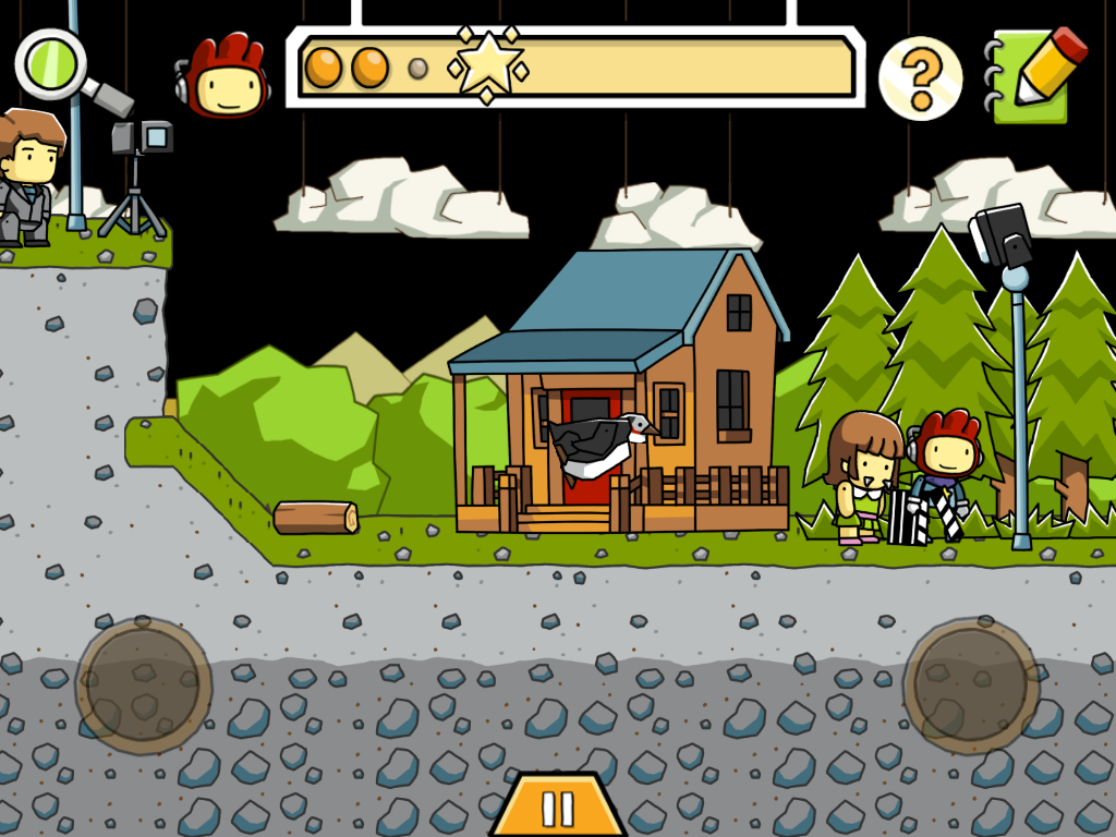 Scribblenauts_Horror Movie_1